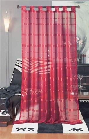 Schlaufenschal MELIA - rot - 145x245 cm