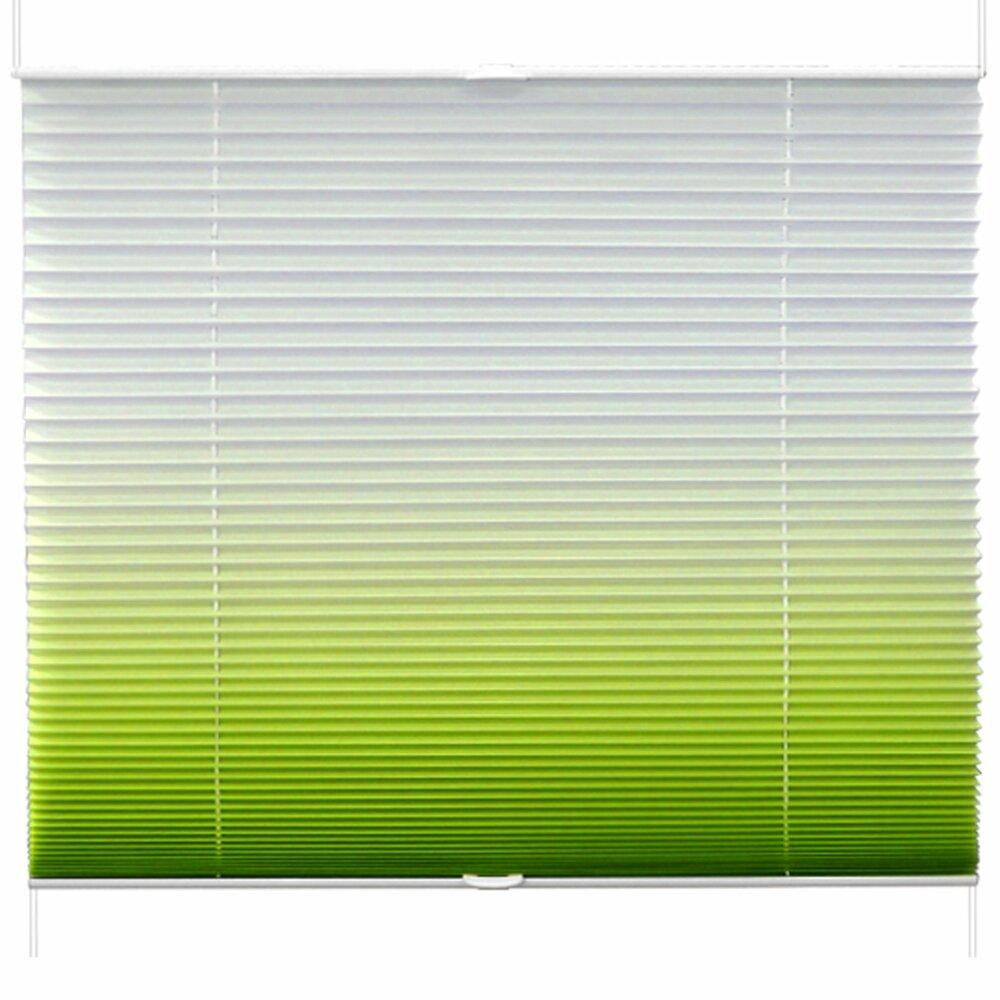 Plissee Grun Farbverlauf 60x130 Cm Plissees Rollos