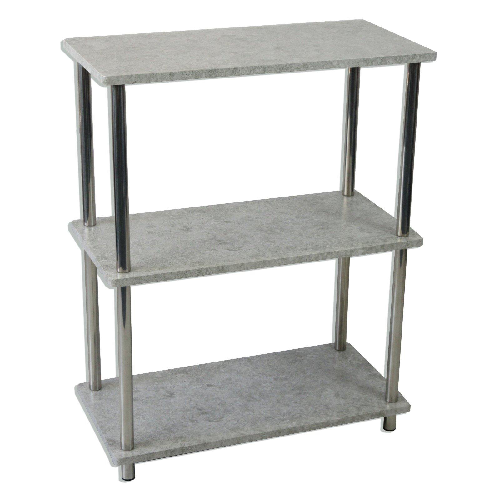 regal grau betonoptik 60 cm breit online bei. Black Bedroom Furniture Sets. Home Design Ideas