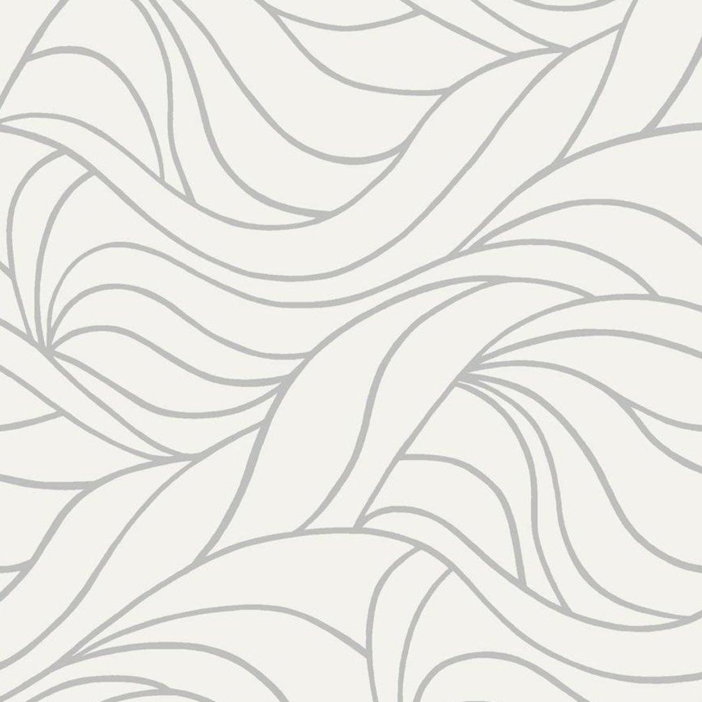d-c-fix Glasdekorfolie ANTWERPEN - weiß-grau - 45x150 cm