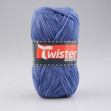 Wolle TWISTER SOX COLOR - dunkel-jeans multi - 100g