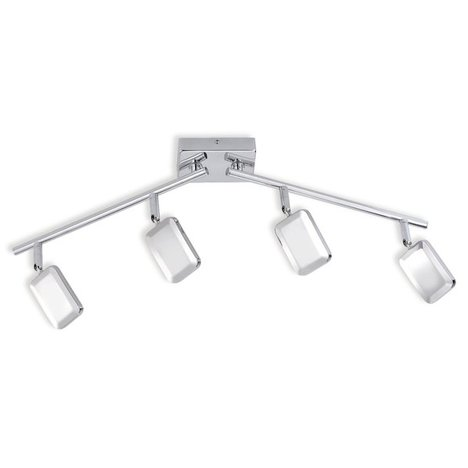 LED-Spotschiene WELLA - Chrom - 4-flammig