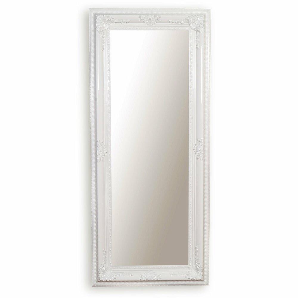 wandspiegel wei mit facettenschliff wandspiegel spiegel deko haushalt m belhaus. Black Bedroom Furniture Sets. Home Design Ideas