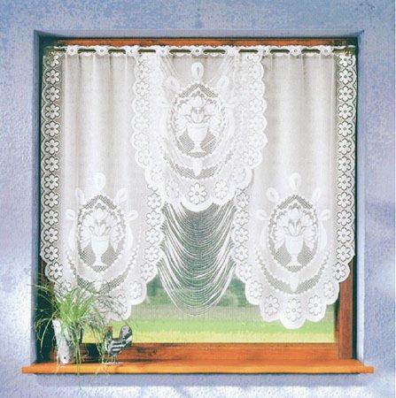 scheibengardine dessin 225893 100x150 cm scheibengardinen gardinen vorh nge deko. Black Bedroom Furniture Sets. Home Design Ideas