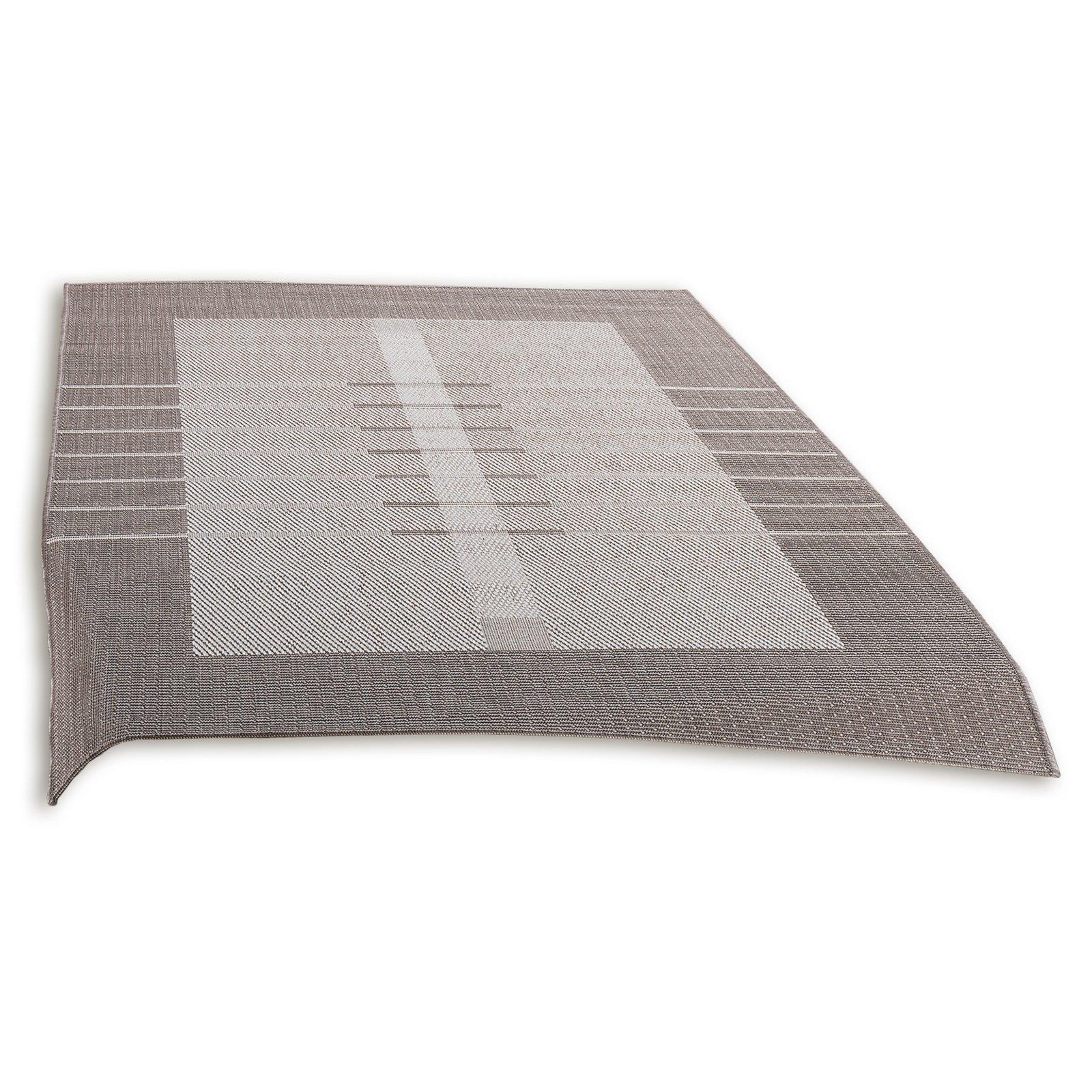 Teppich OSLO  ecrutaupe  80×150 cm  Gemusterte