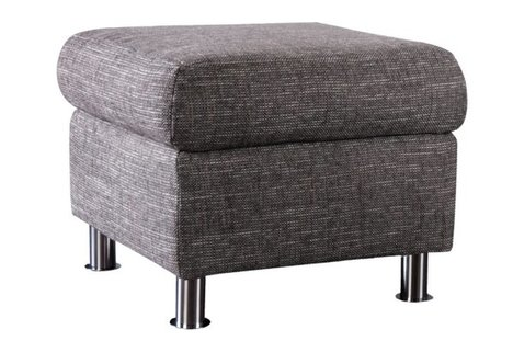 Hocker - grau - Webstoff