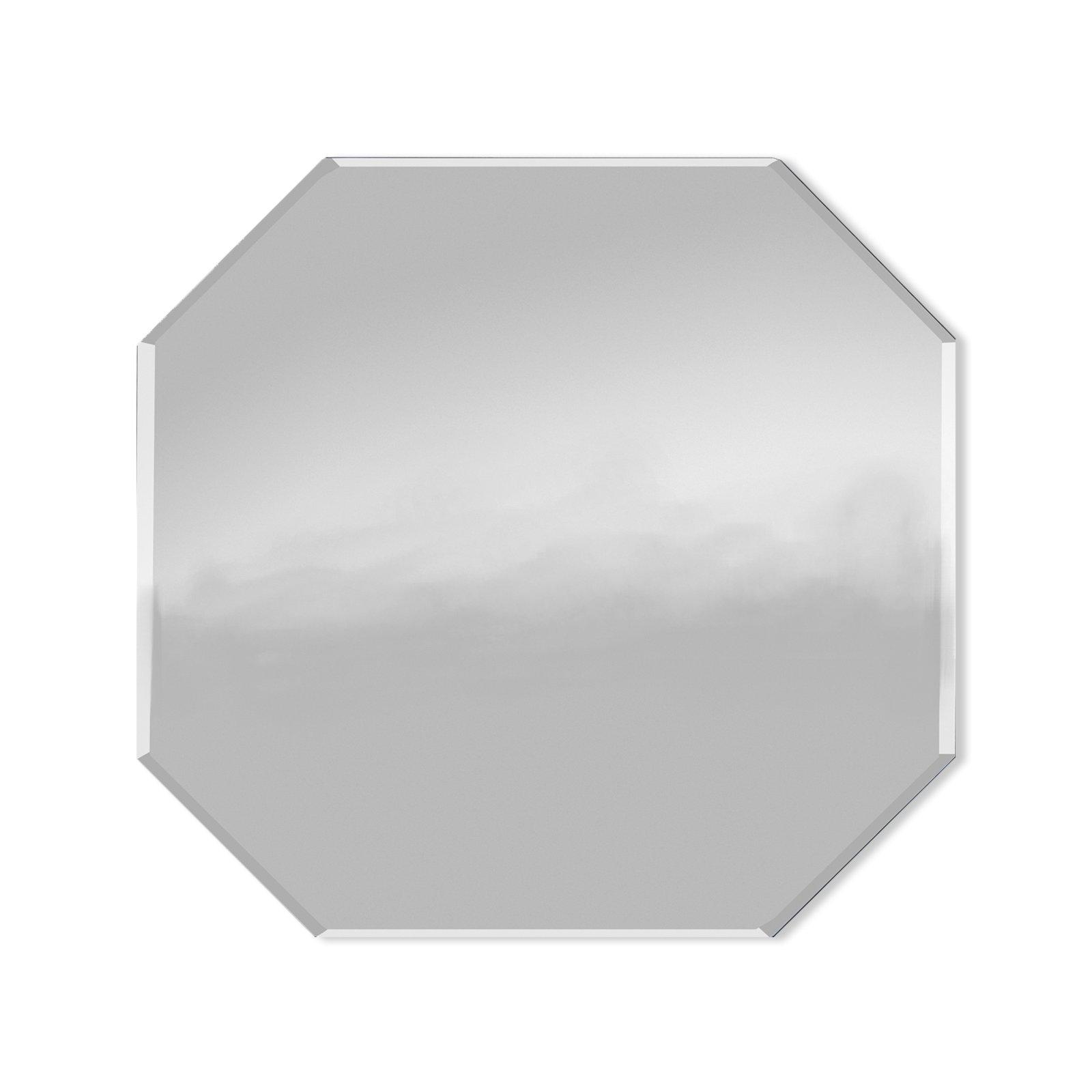 spiegel nick mit facettenschliff achteckig 50x50 cm wandspiegel spiegel deko. Black Bedroom Furniture Sets. Home Design Ideas