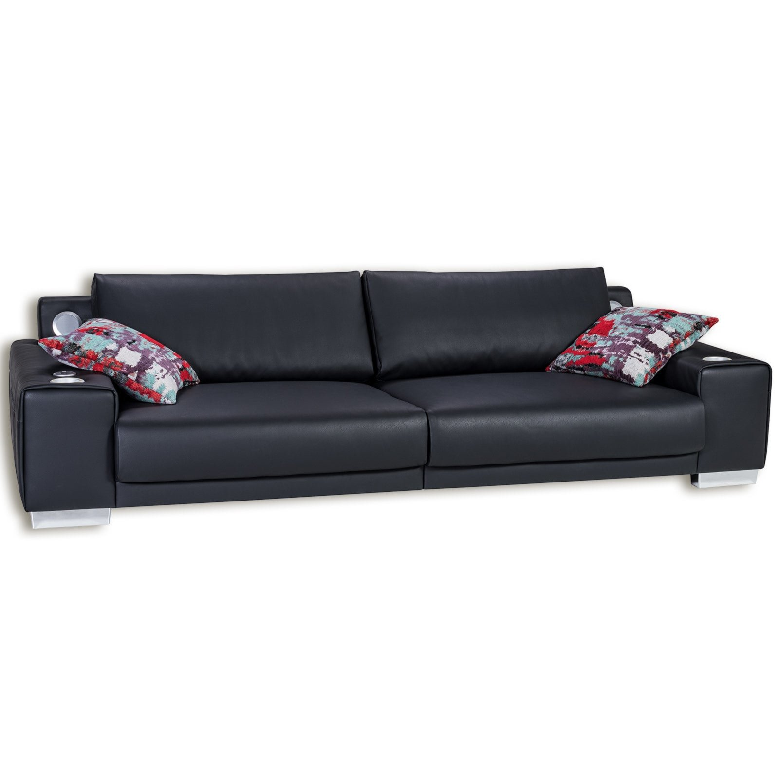 sofa mit soundsystem big sofa mit beleuchtung wahlweise mit bluetooth soundsystem auf raten. Black Bedroom Furniture Sets. Home Design Ideas