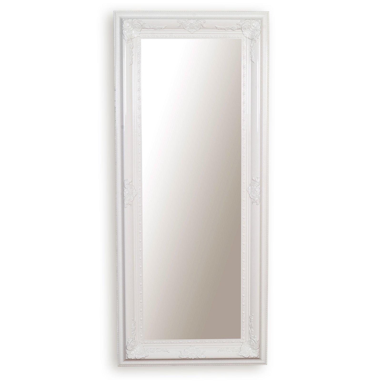 wandspiegel wei mit facettenschliff wandspiegel spiegel deko haushalt roller. Black Bedroom Furniture Sets. Home Design Ideas