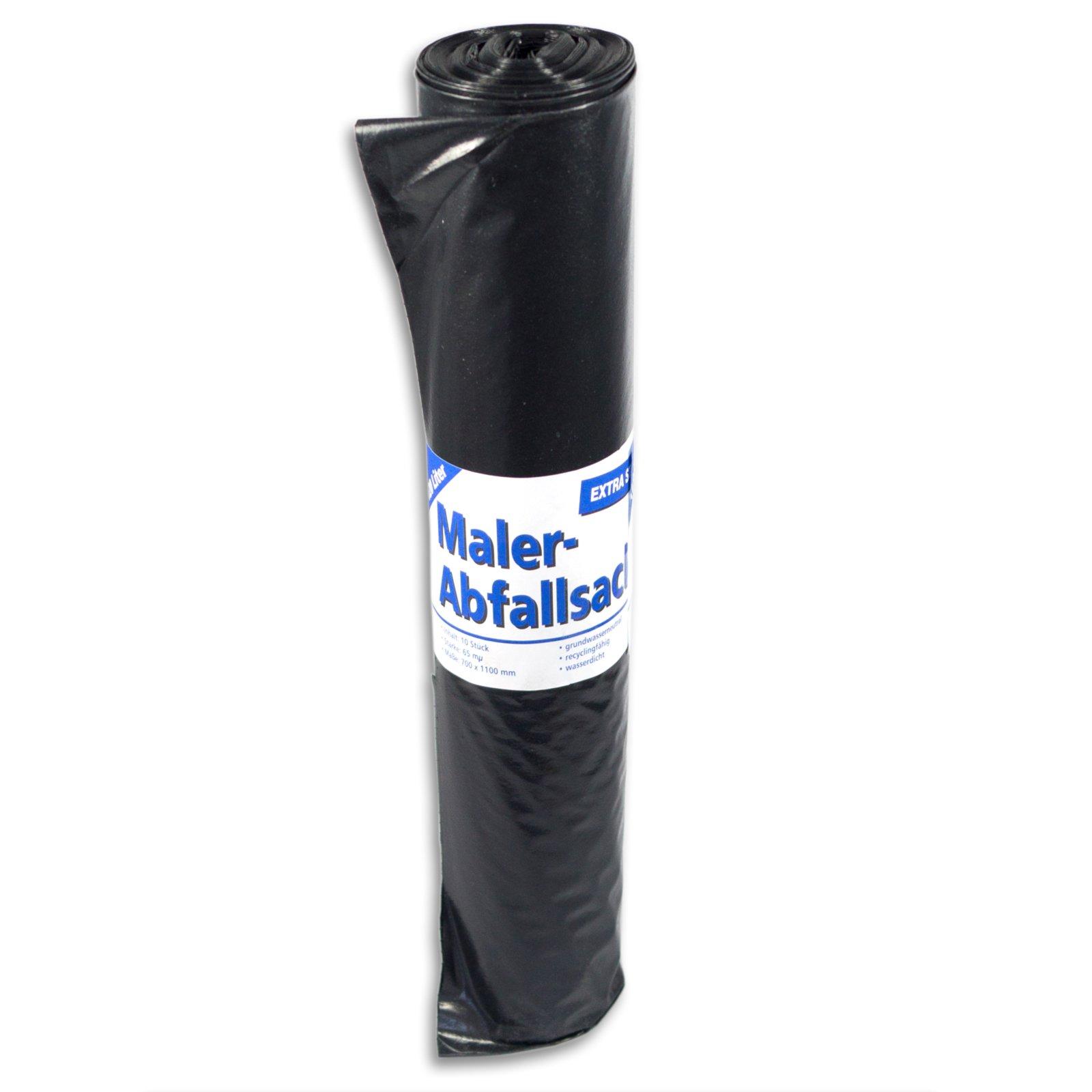 Maler-Abfallsack - 10 Stück - 240 Liter