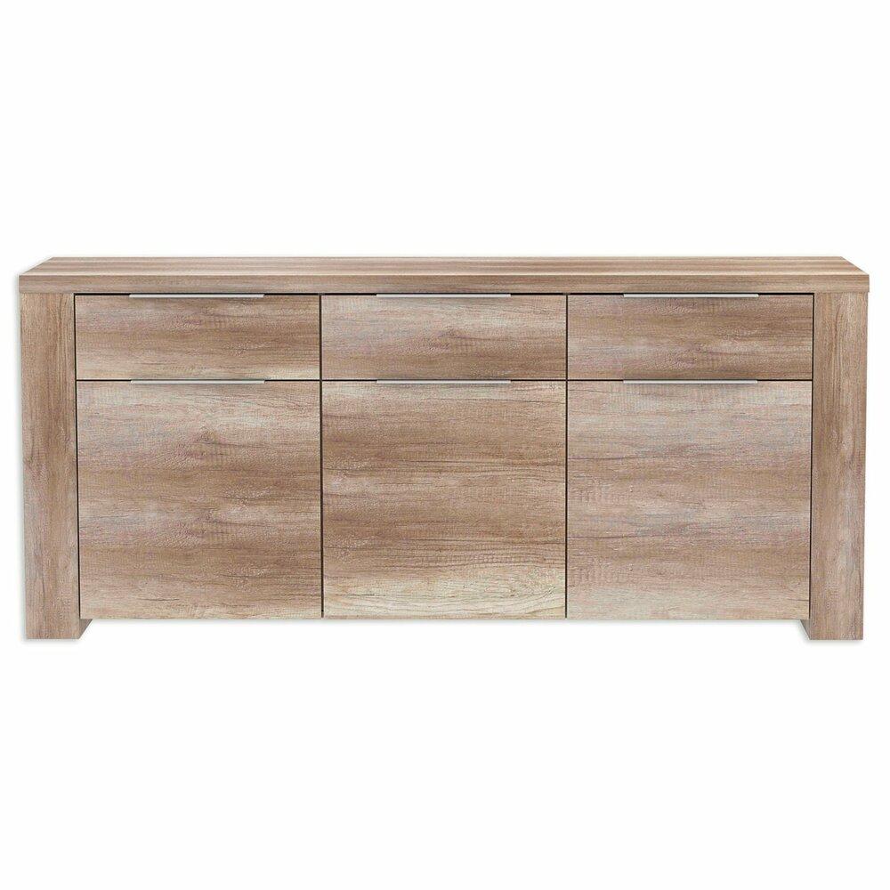 sideboard calpe eiche antik 189 cm breit kommoden sideboards m bel roller m belhaus. Black Bedroom Furniture Sets. Home Design Ideas