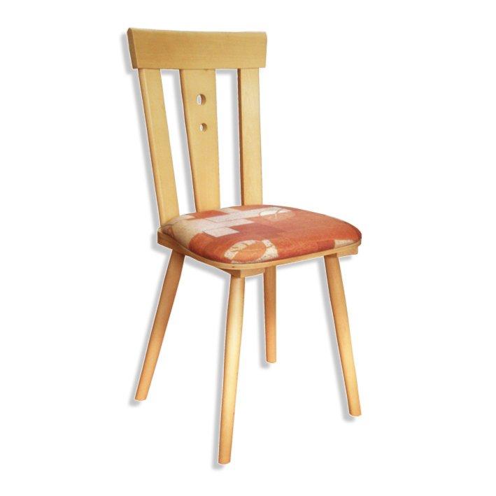 k chenstuhl schwerin terracotta gemustert massivholz. Black Bedroom Furniture Sets. Home Design Ideas