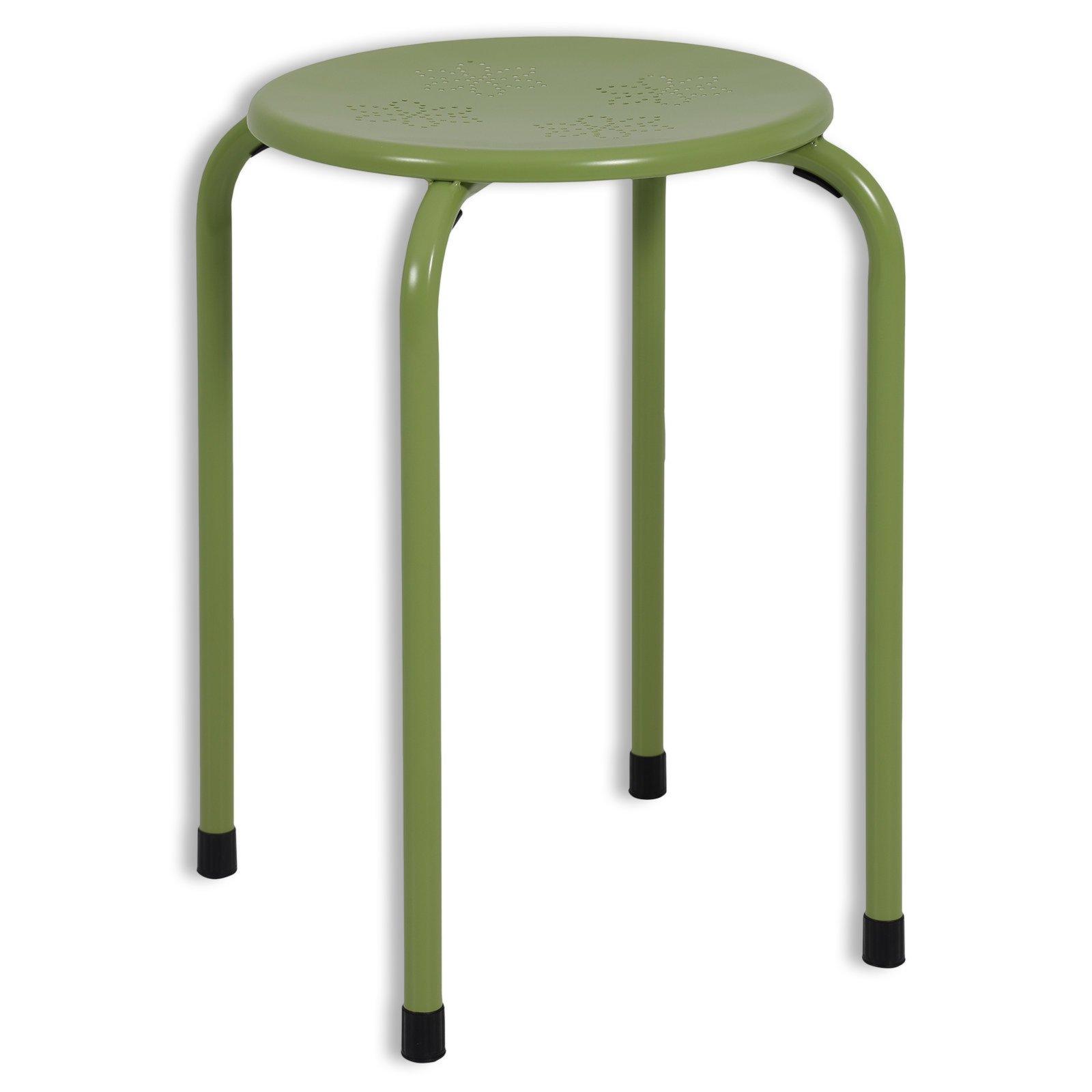 hocker sammy gr n metall 30 cm hocker st hle. Black Bedroom Furniture Sets. Home Design Ideas